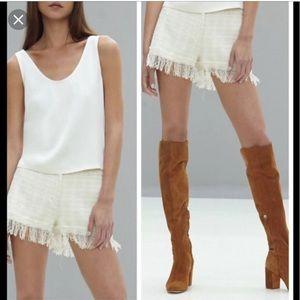 Alexis Tweed Shorts M- NWOT